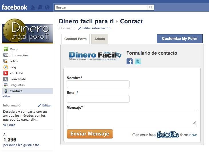 How can i contact facebook admin