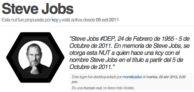 karmacracy logro steve jobs