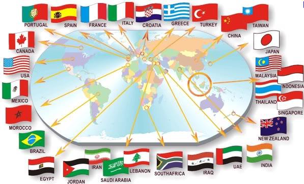 banners orientados a paises