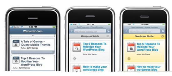 Cómo optimizar un blog Wordpress para smartphones y otros ...